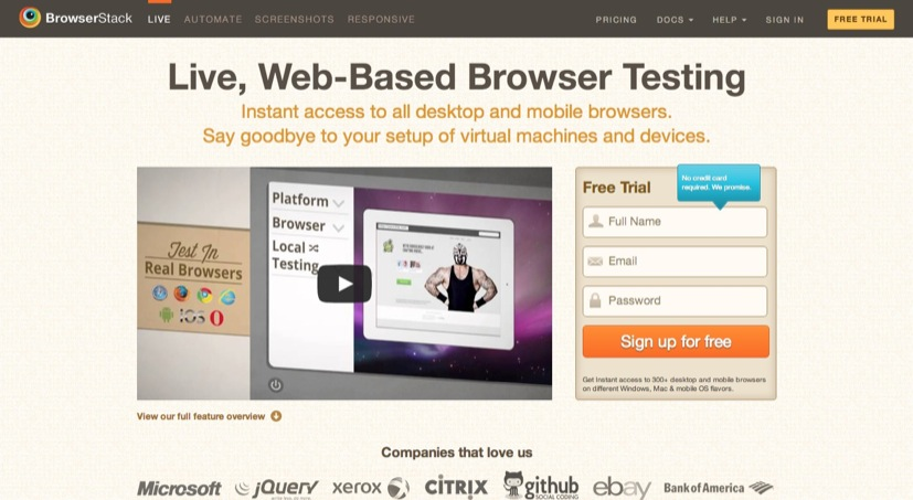 Cross Browser Testing Tool. 300  Browsers  Mobile  Real IE.